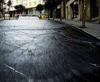 Asfalto liquido per strade