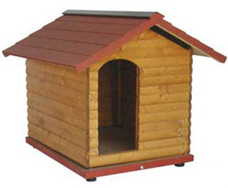Casette per cani for Casette in legno per cani grandi