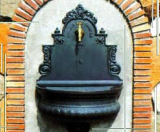 Fontane in ghisa da giardino - Fontana da giardino fai da te ...