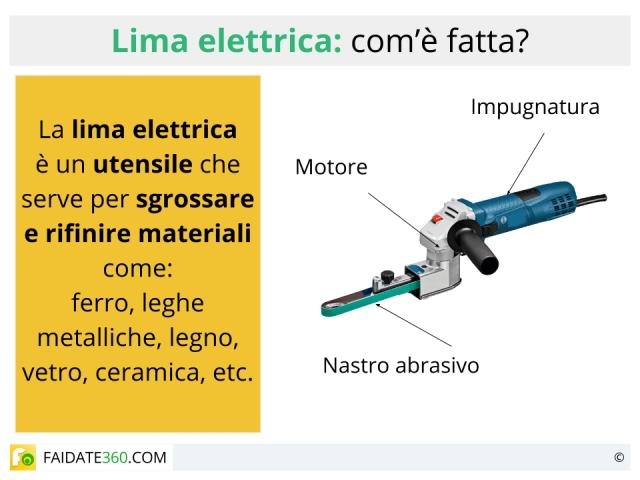 Lima elettrica: a cosa serve? Caratteristiche e prezzi