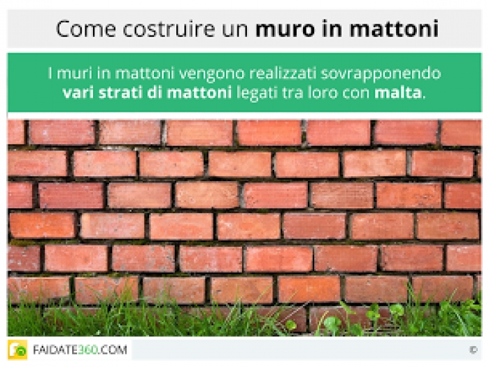 Come Costruire Un Muro In Tufo.Come Costruire Un Muro Di Mattoni Materiali E Posa In Opera