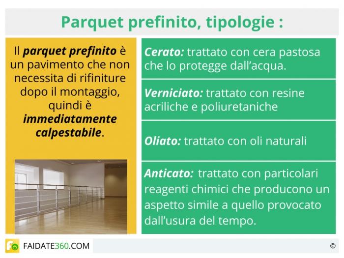 Parquet Prefinito Tipi Prezzi E Posa In Opera