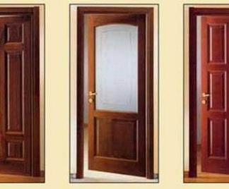 Porte In Legno Massello : Porte in legno massello