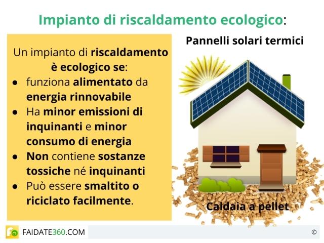 Riscaldamento ecologico: impianti e sistemi a confronto