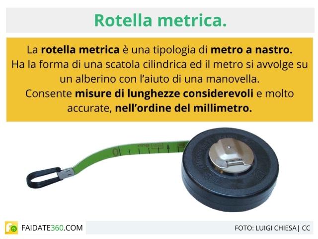 Rotella metrica: caratteristiche, tipi e prezzi del metro a nastro
