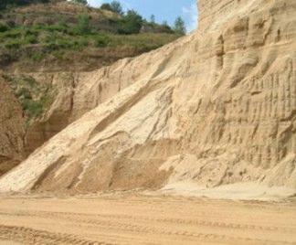 Sabbia di cava for Sabbia di fiume