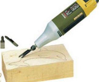 Scalpello per legno elettrico