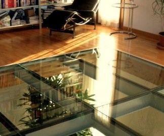 Soppalco in vetro for Planimetrie delle case con struttura in metallo