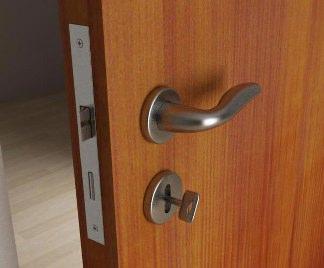 Come smontare serratura porta