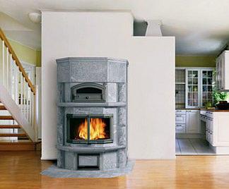 Stufe a legna con forno - Stufe a legna immagini ...