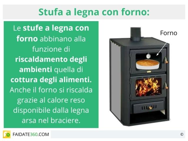 a legna con forno: caratteristiche, tipologie e prezzi