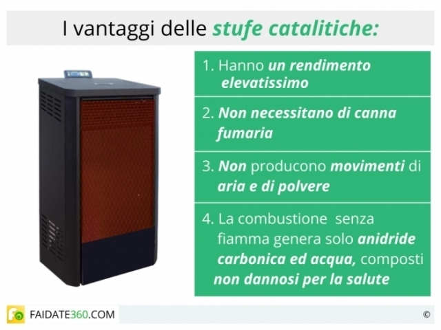 Stufe catalitiche a gas a metano a gpl o a kerosene come funzionano caratteristiche ed - Stufe a gas metano ...