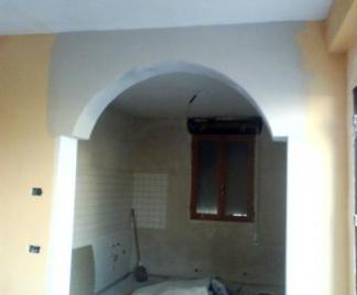 Archi in cartongesso - Arco interno casa ...