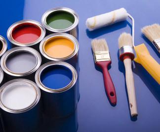 Attrezzi per pitturare casa