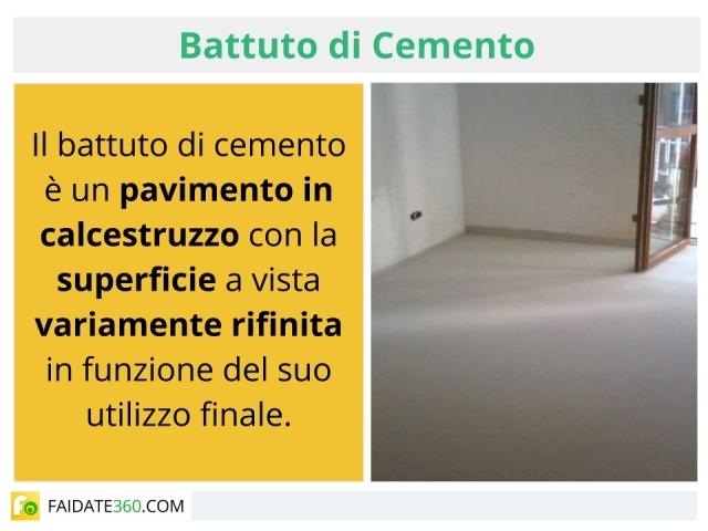 Battuto di cemento: come si fa? Realizzazione per interni ed esterni