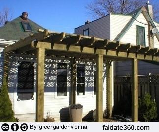 Costruire pergolato legno