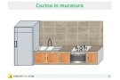 Cucina in muratura fai da te: dal progetto  alla realizzazione