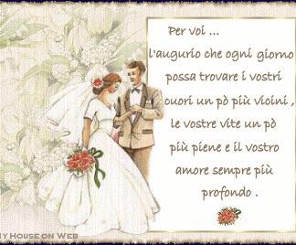 auguri and matrimonio