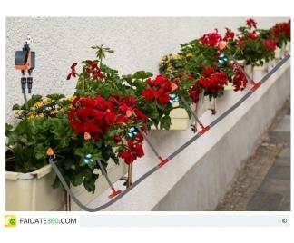 impianto di irrigazione per balconi e terrazzi