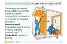 Isolamento acustico: materiali e soluzioni per finestre, pareti, soffitti e pavimenti