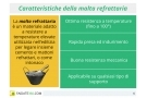 Malta refrattaria: cos'è? A cosa serve? Come si usa? Caratteristiche e prezzi