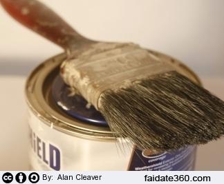 Manutenzione dei pennelli per pitturare