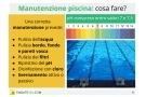 Manutenzione piscine interrate e fuori terra