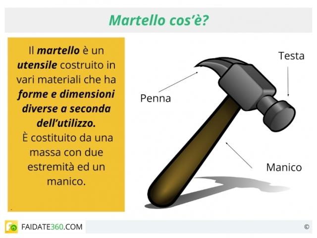 Martello: tipi, caratteristiche ed utilizzi