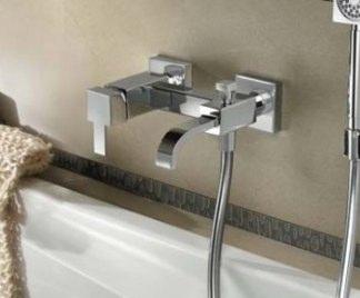 Montare il rubinetto della vasca da bagno - Vasca da bagno altezza ...