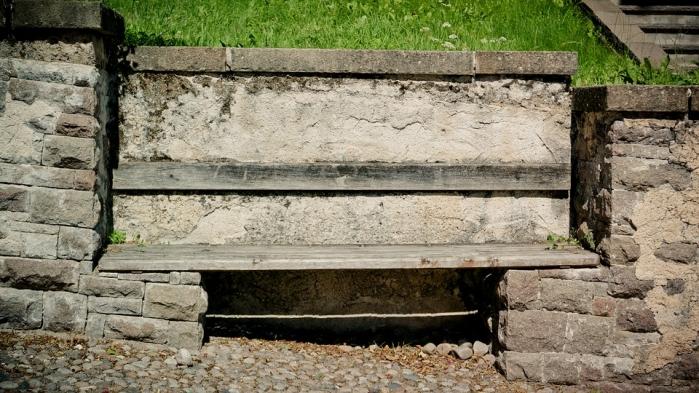 Panche In Muratura Per Esterni.Panchina In Muratura