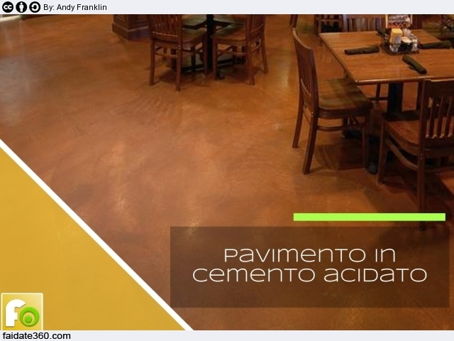 Pavimenti in cemento per interni e per esterni for Pavimento in cemento