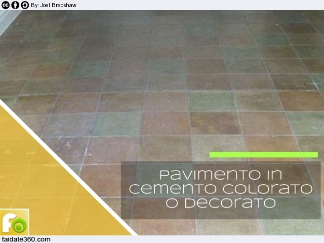 Pavimenti In Cemento Per Esterno : Pavimenti in cemento per interni e per esterni caratteristiche e