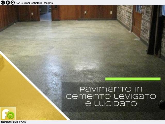 Pavimenti in cemento per interni e per esterni - Piastrelle garage prezzi ...
