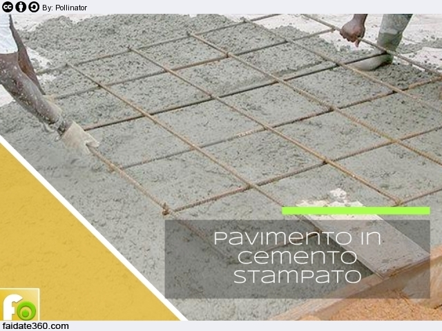 Calcestruzzo Stampato Fai Da Te : Pavimenti in cemento per interni e per esterni caratteristiche e