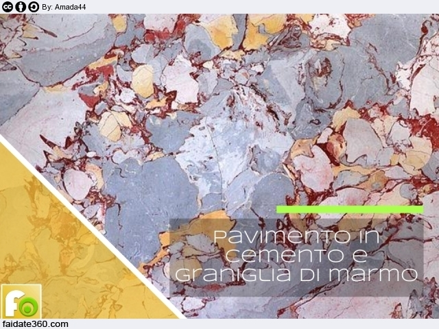 Mobili Lavelli: Pavimento in graniglia di marmo e cemento