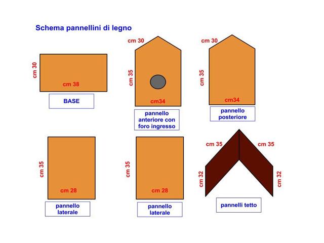 Molto Le Clementine: Casette per uccellini UD84