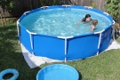 Piscine fuori terra prezzi montaggio manutenzione e - Costruire una piscina interrata ...