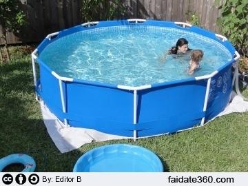 Fai da te for Costruire piscina fai da te