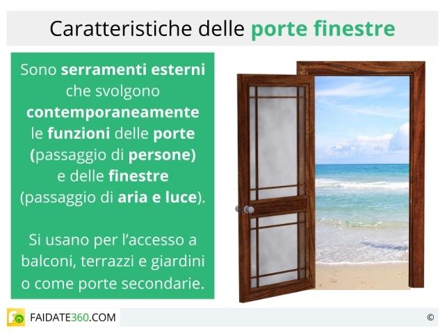 Porte finestre caratteristiche tipologie e prezzi - Porte e finestre lissone ...