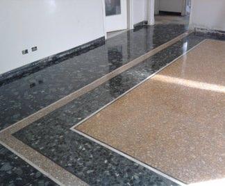 Posa in opera pavimenti in graniglia - Piastrelle da incollare su pavimento esistente ...