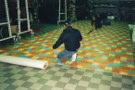 Posa in opera pavimento in gomma