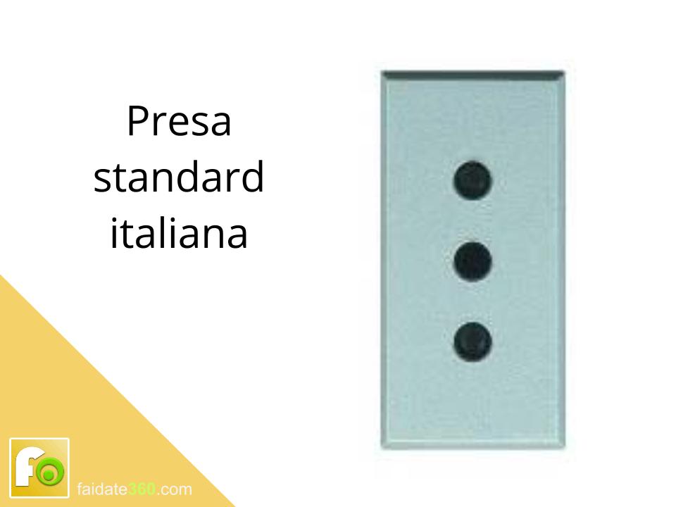 Presa standard italiana