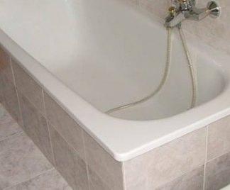Rivestire la vasca da bagno - Stucco per vasca da bagno ...