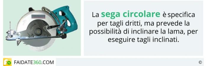 Sega circolare