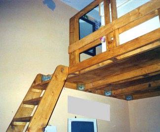 Soppalco fai da te for Piano di costruzione in legno soppalco