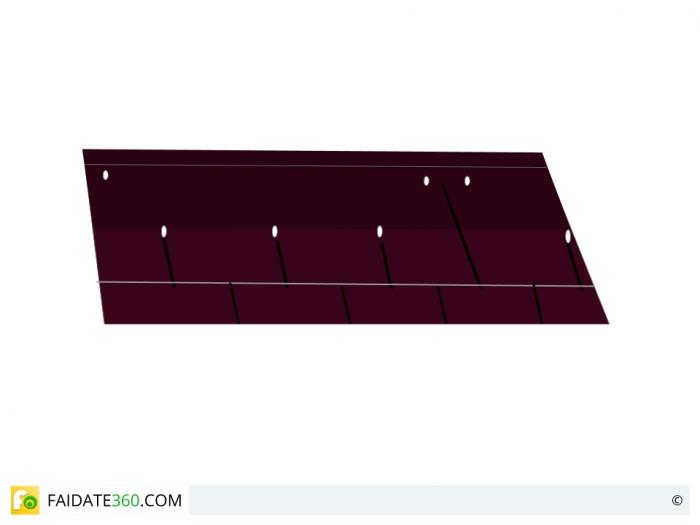Montaggio tegole bituminose - 2