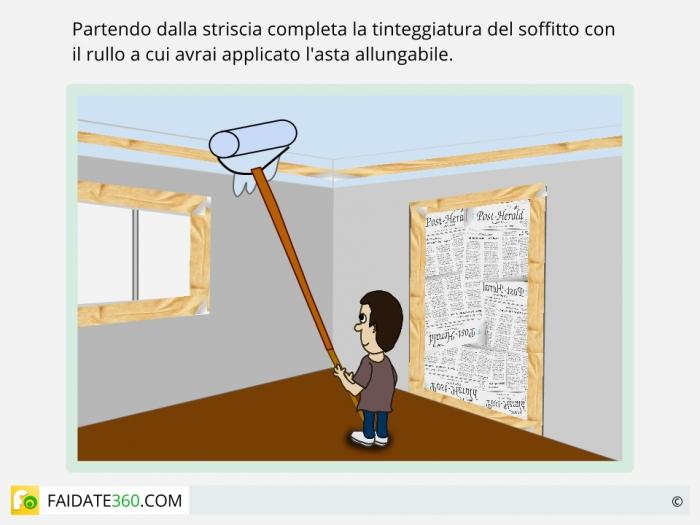 Come Pitturare Il Soffitto Con Il Rullo Pictures to pin on Pinterest