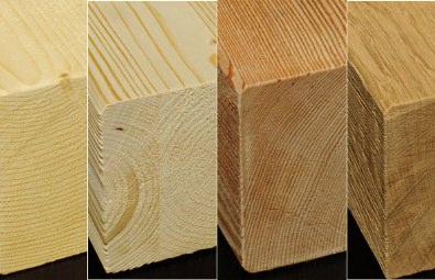 tipologie di legno